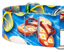 Load image into Gallery viewer, 1.5 Inch Pool Party Martingale Collar for Greyhounds