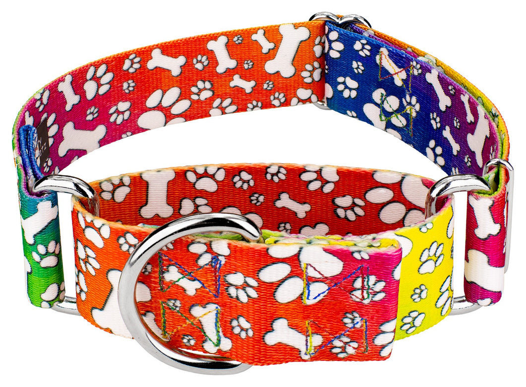 1.5 Inch Trippy Doggo Martingale Collar for Greyhounds