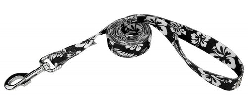 Black Hawaiian Leash for Greyhounds