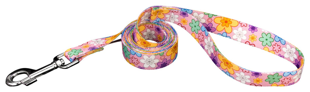 May Flowers Leash for Greyhounds