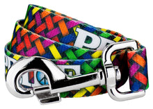 Load image into Gallery viewer, Pride and Peace Roller Leash for Greyhounds