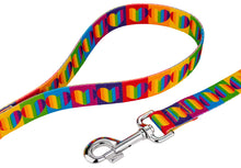 Load image into Gallery viewer, Rainbow Hearts Leash for Greyhounds