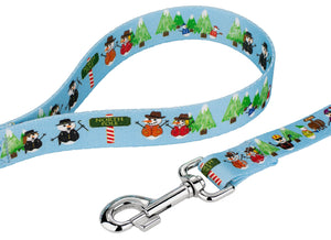 Snowman Party Leash for Greyhounds