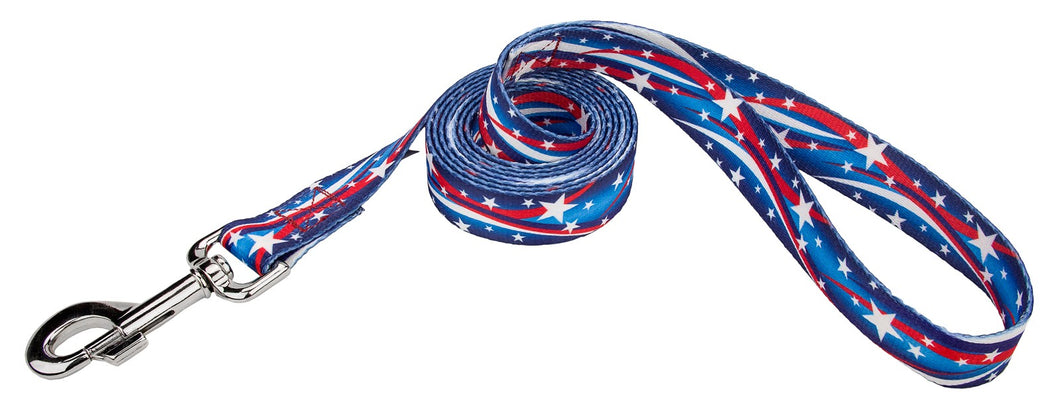 Star Spangled Leash for Greyhounds
