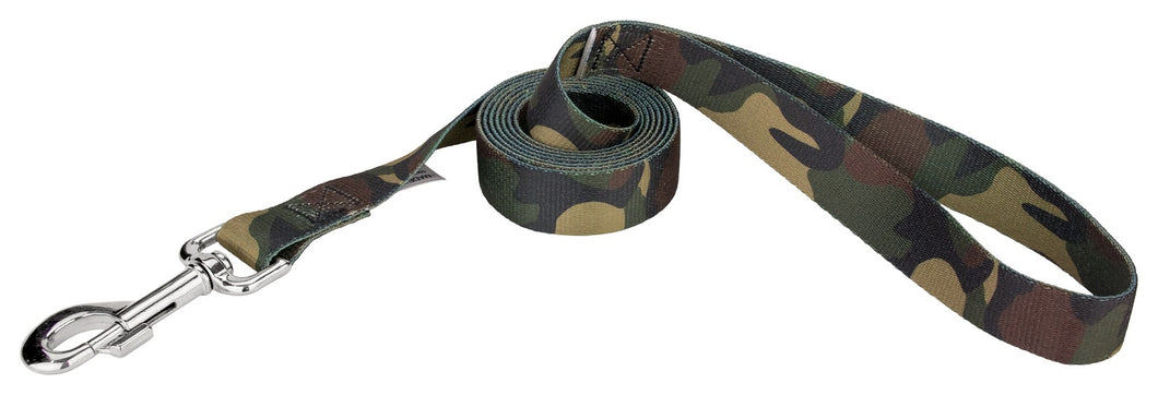 Woodland Camo Leash for Greyhounds