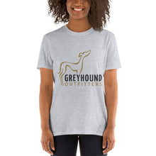 Load image into Gallery viewer, Greyhound Outfitters - Women's Official Fan Short-Sleeve T-Shirt (Multiple Colors Available)