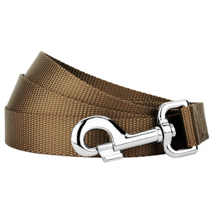 Coyote Tan Heavyduty Nylon Leash for Greyhounds