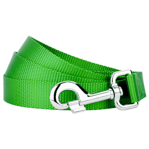 Hot Lime Green Heavyduty Nylon Leash for Greyhounds