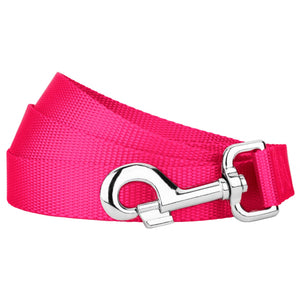 Hot Pink Heavyduty Nylon Leash for Greyhounds