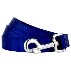 Royal Blue Heavyduty Nylon Leash for Greyhounds