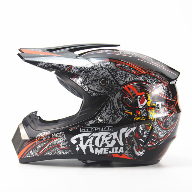 Adult Motocross Off Road Helmet for Bike