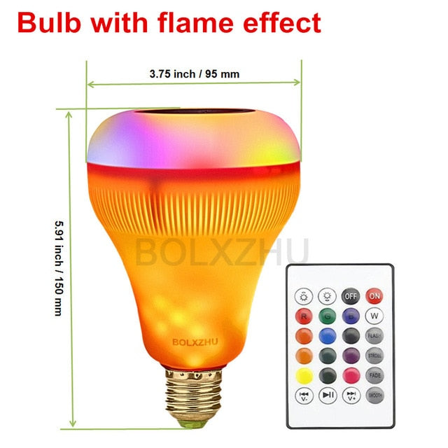 Wireless Bluetooth Speaker Bulb