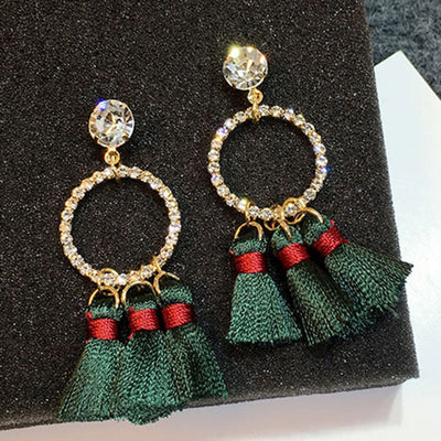Vintage Tassel Long Earrings