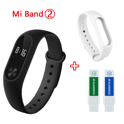 Original Xiaomi Sport Wristband Smartwatch with Fitness Activity Tracker, Heart Rate Monitor, Bluetooth 4.0 Pedometer Sleep Monitor & Waterproof