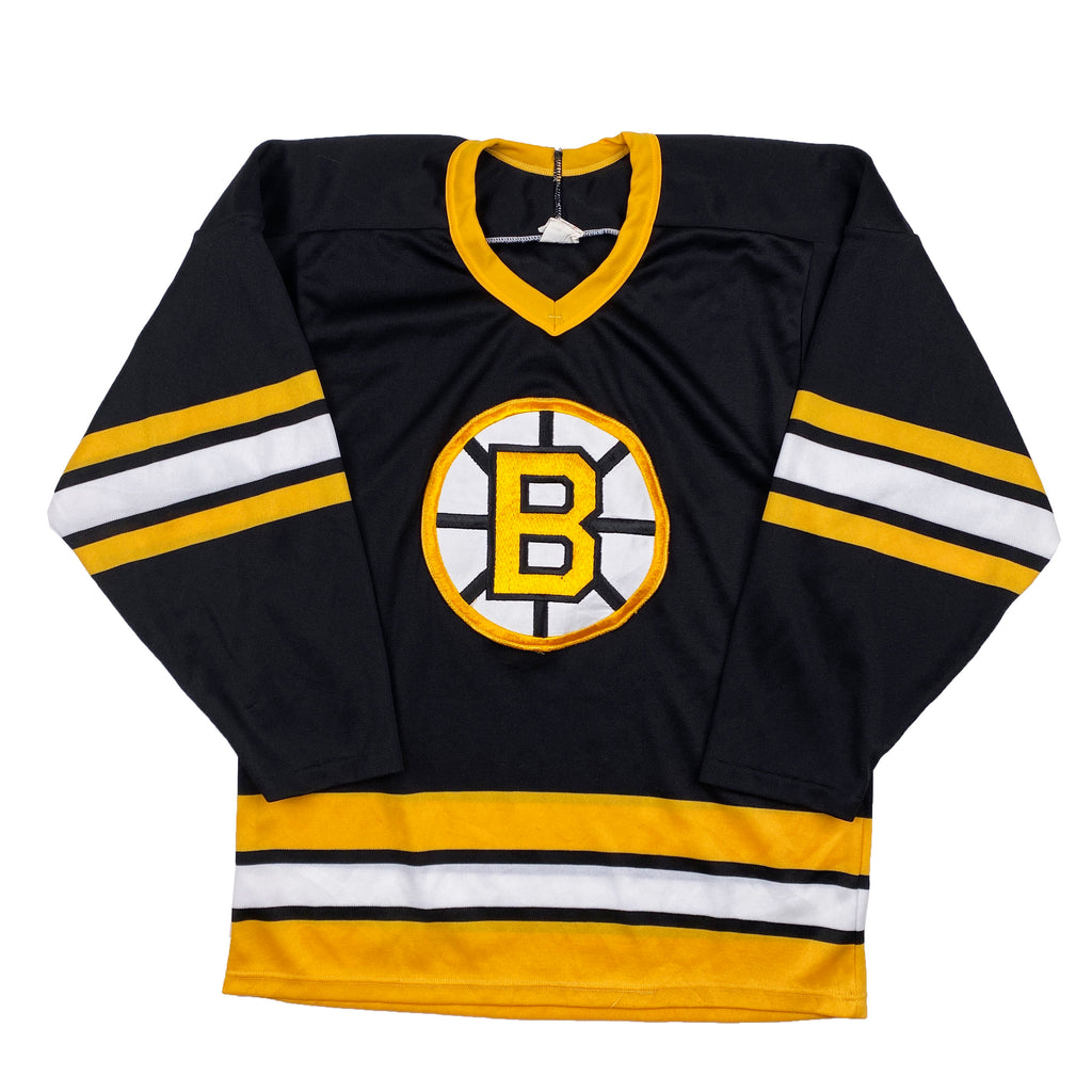 Vintage CCM Boston Bruins Stitched Jersey - Men's Small