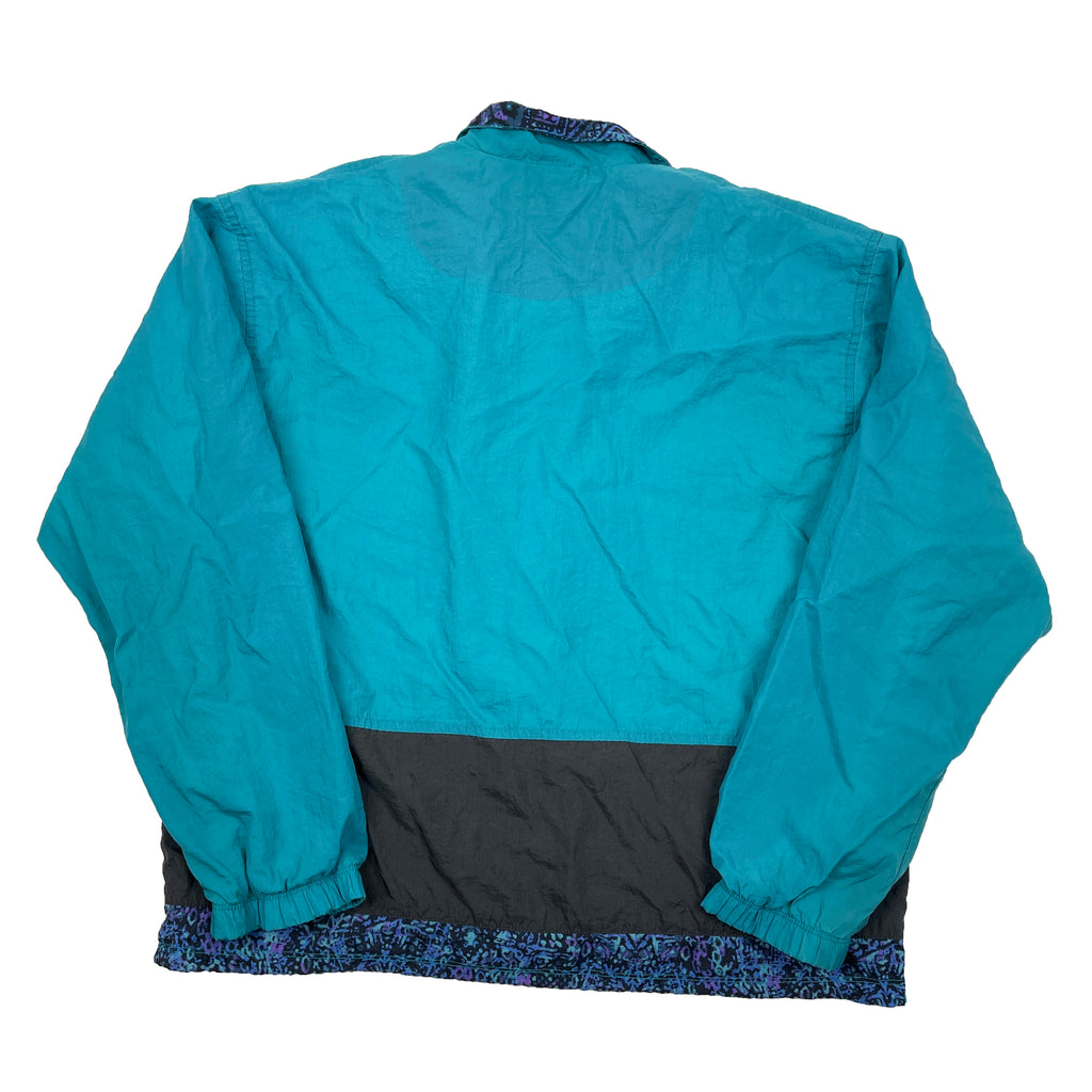 Vintage Nike Abstract Windbreaker - Women's Medium
