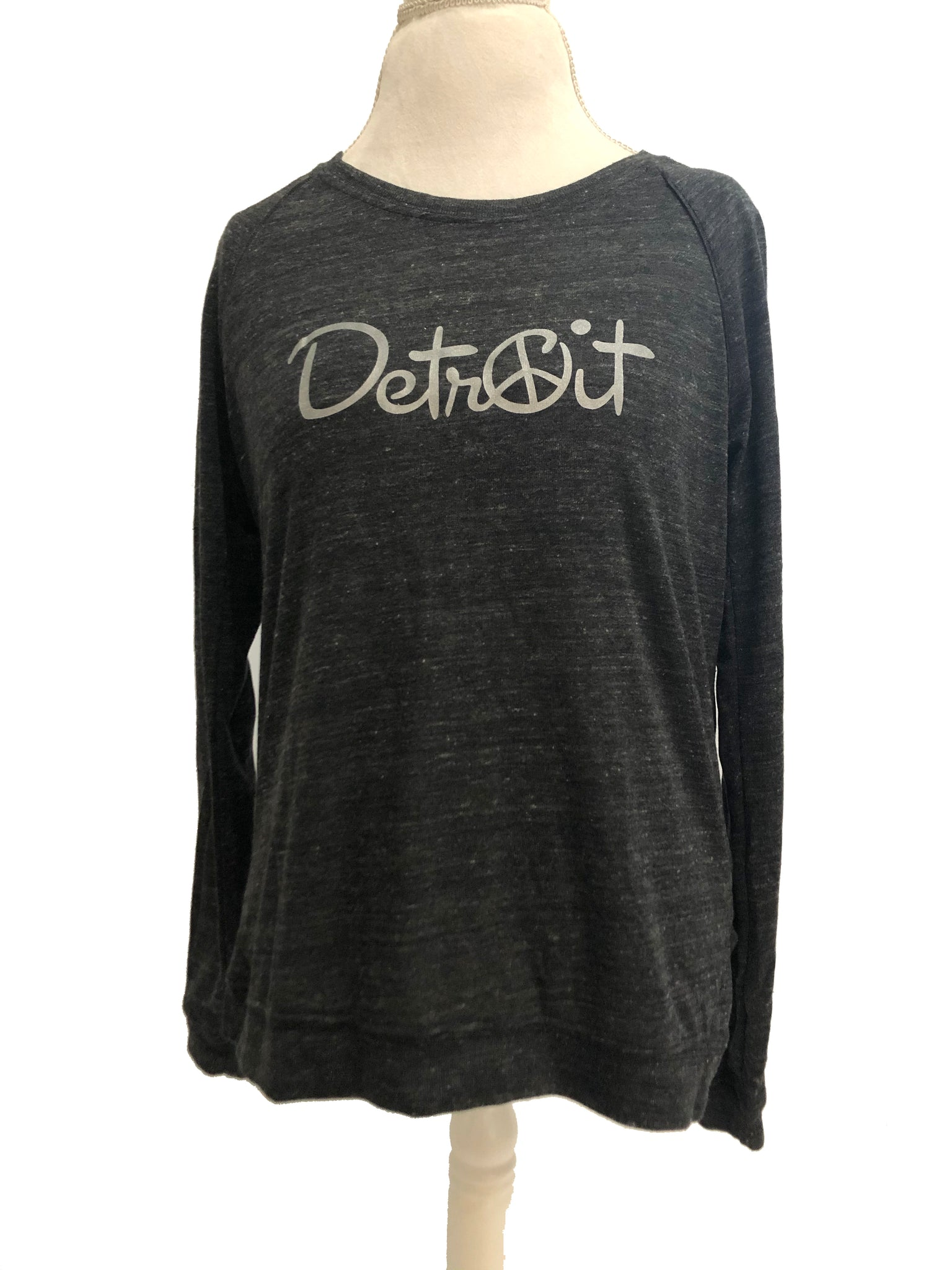 Long sleeve Peace Detroit Eco Jersey pullover
