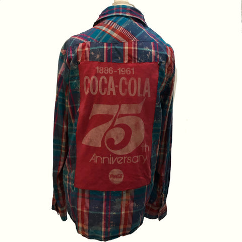 Coca-Cola buttondown