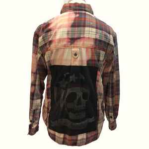 Los Angeles skull buttondown