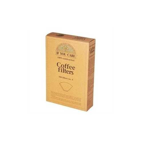 If You Care Coffee Filter #4 Cone Brown Coffee Filter (1x100 CT)