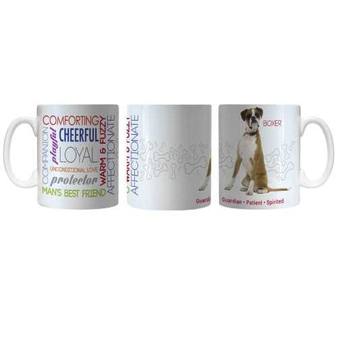 Pet Coffee Mug 11oz Boxer Special Order
