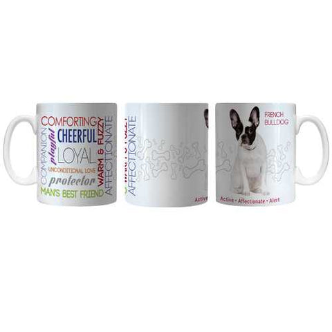 Pet Coffee Mug 11oz French Bulldog Special Order