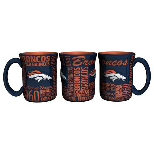 Denver Broncos Coffee Mug 17oz Spirit Style