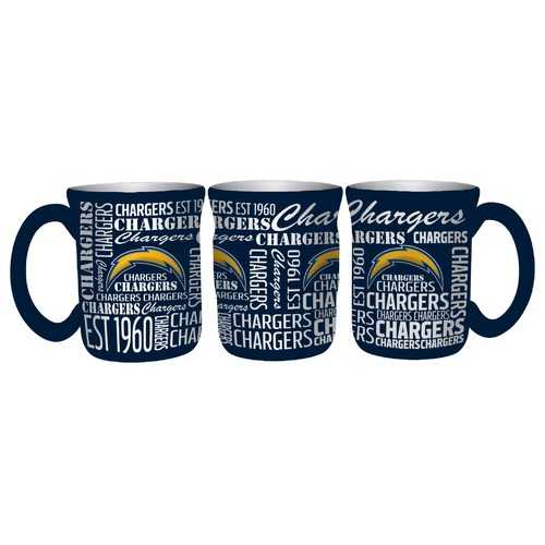 Los Angeles Chargers Coffee Mug 17oz Spirit Style