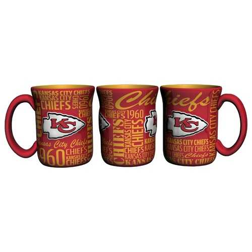 Kansas City Chiefs Coffee Mug 17oz Spirit Style