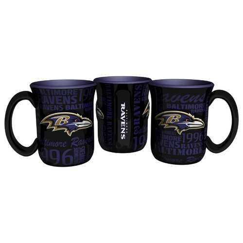 Baltimore Ravens Coffee Mug 17oz Spirit Style