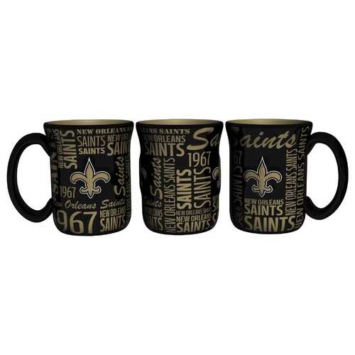 New Orleans Saints Coffee Mug 17oz Spirit Style