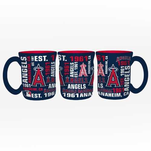 Los Angeles Angels Coffee Mug 17oz Spirit Style Special Order