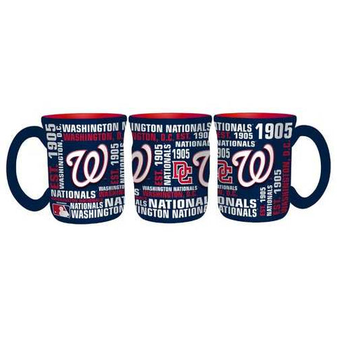 Washington Nationals Coffee Mug 17oz Spirit Style Special Order
