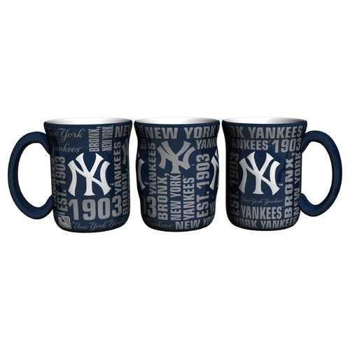 New York Yankees Coffee Mug 17oz Spirit Style