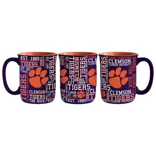 Clemson Tigers Coffee Mug 17oz Spirit Style