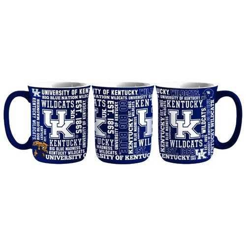 Kentucky Wildcats Coffee Mug 17oz Spirit Style Special Order