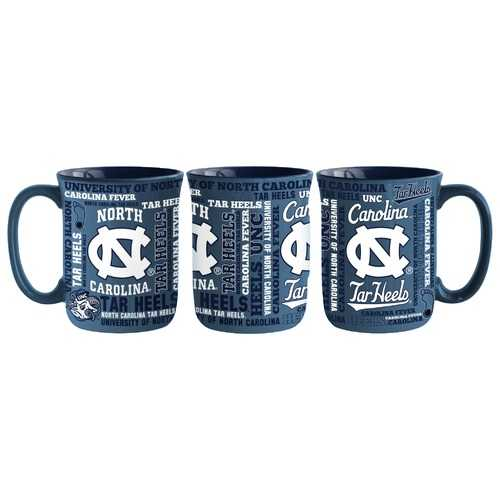North Carolina Tar Heels Coffee Mug 17oz Spirit Style