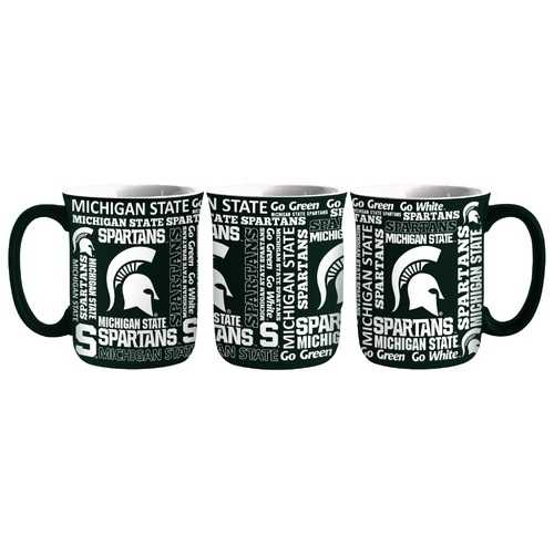 Michigan State Spartans Coffee Mug 17oz Spirit Style