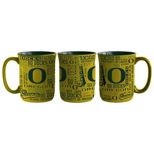 Oregon Ducks Coffee Mug 17oz Spirit Style