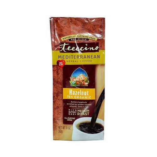 Teeccino Hazelnut Herbal Coffee (6x11 Oz)