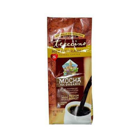 Teeccino Mocha Herbal Coffee (6x11 Oz)
