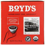 Boyds Coffee Red Wagon Single Cup Pods (6x12 CT)