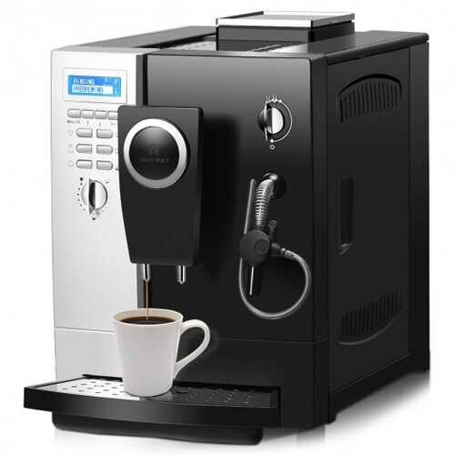 Super-Automatic Espresso Maker Machine with Milk Frother