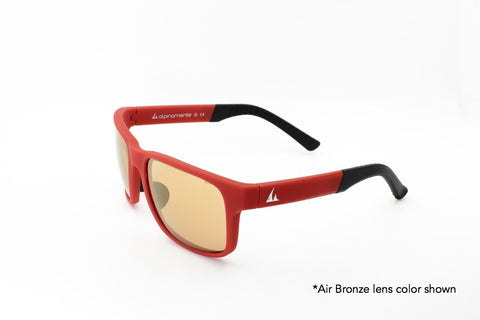 ALPINAMENTE 2841m Transition Sunglasses - Red