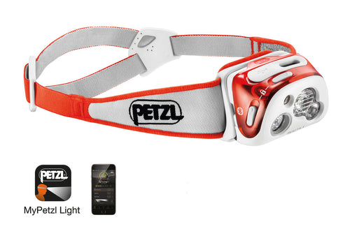 PETZL REACTIK® + Headlamp
