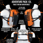 ORANGE MUD Adventure Pack 12L