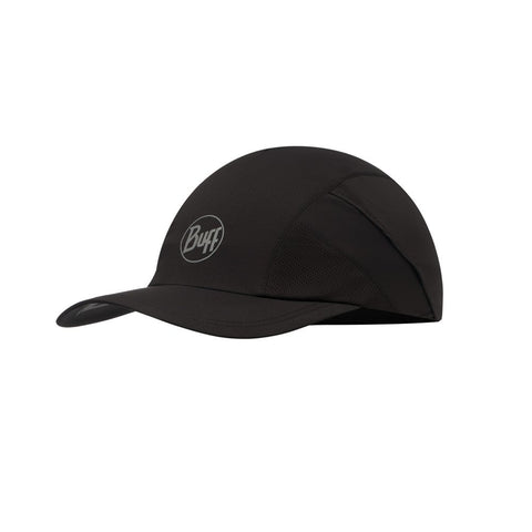 BUFF Reflective Pro Run Cap R-Solid Black
