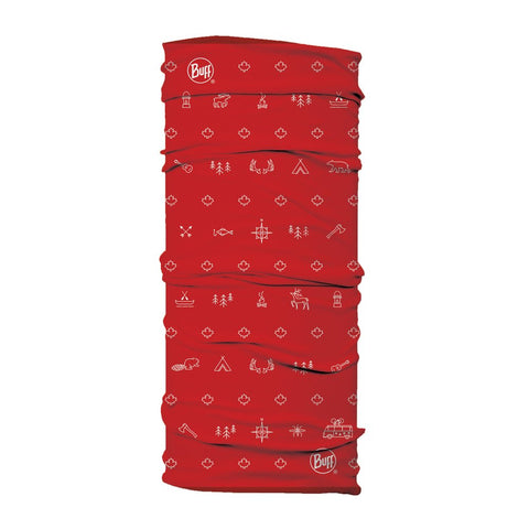 BUFF Original Neckwear - Canada Collection - Campfire Red
