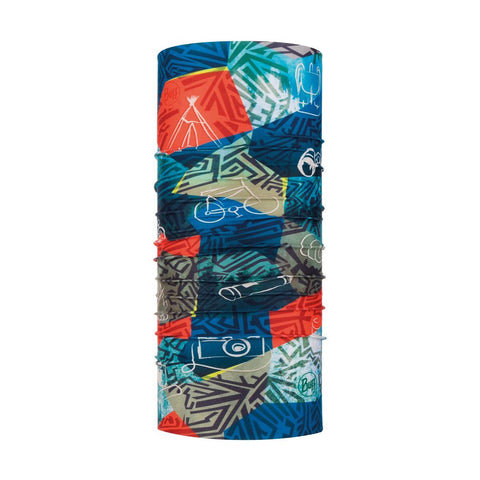 BUFF Coolnet UV+ Neckwear Junior - Stony Multi
