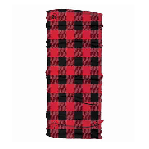 BUFF Original Neckwear - Canada Collection - Red Plaid
